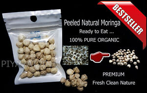 Details about Pemium Peeled Moringa Seeds 100% Pure Organic Herbs Ready to  Eat