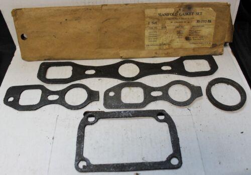 Chevrolet 1934 Master Manifold Intake Exhaust Gasket Set MS-5312-MK 535