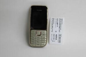 NOKIA C2-01 Gold Débloqué numéro 3.2MP Pad 56 Mo classic Téléphone portable NEUF