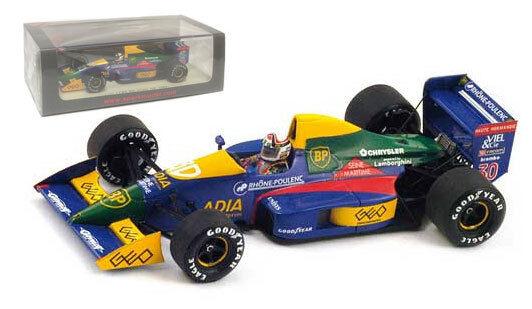 SPARK s2975 LOLA lc89  Larrousse  Spanish GP 1989-Philippe Alliot scala