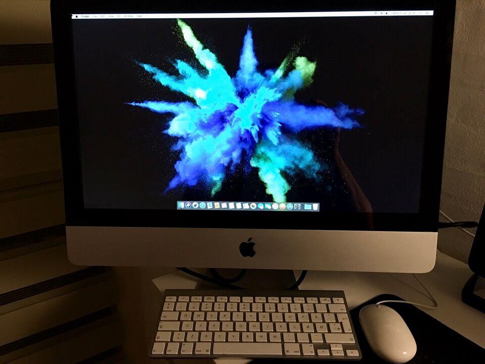 "iMac, 21,5 "" iMac fra 2011, Core i5 ,2,5 Ghz GHz"