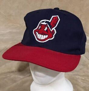 VTG-Cleveland-Indians-Chief-Wahoo-Adult-OSFA-Snapback-Hat-Cap-MLB-Baseball-AL