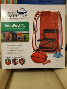 Under The Weather Instapod Pop Up Tent Xl Extra Large Red