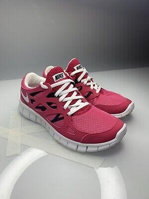 Nike Femme Free Run + 2 EXT 536746 600 Rose Blanc Running UK4.5 US7 EU38 | eBay UK4.5 US7 EU38 | eBay