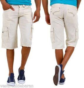 Pantaloni-Corti-Uomo-Shorts-Bermuda-ABSOLUT-JOY-A579-Tg-S-M