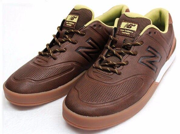 New Balance Logan 637  Braun/green  Herren Größe 9 Braun/green  skate lifestyle fallen etnies b3aabc