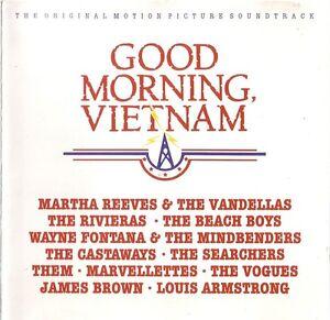 Compilation-CD-Good-Morning-Vietnam-The-Original-Motion-Picture-Soundtrack