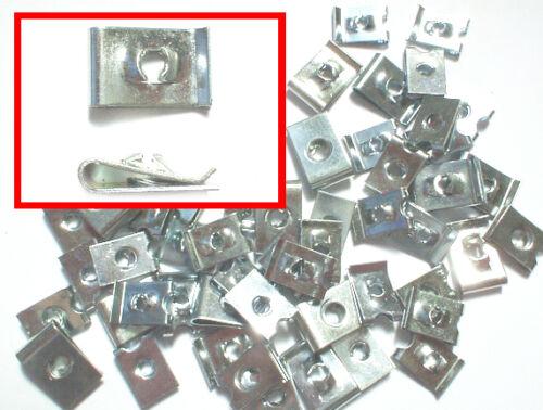 Guglia Clip 8 e 10 Gauge Self Tappers per adattarsi 6 U-clip, clip di velocità 50 PZ