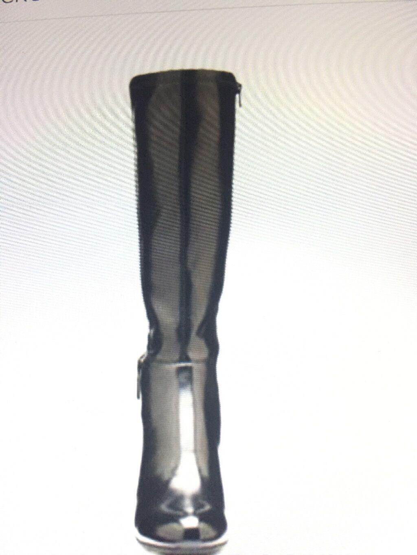 Womens CROFT & BARROW  Ortholite buckle Wide calf Knee High size 9