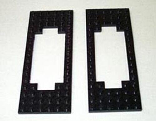 LEGO®  Eisenbahn Rahmen Platten  6 x 16 2 schw