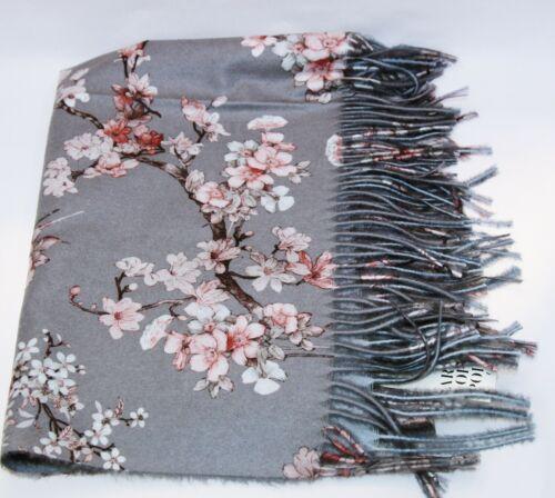 Super Chaud Et Moderne Femme Hiver Echarpe avec des fleurs ELEGANT sz19511