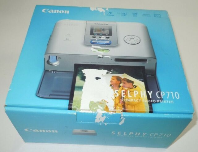Driver for Canon SELPHY CP710