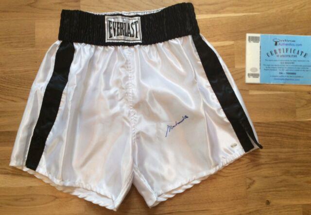 Muhammed ali Signed Shorts Memorabilia & Certificate Online Authentics
