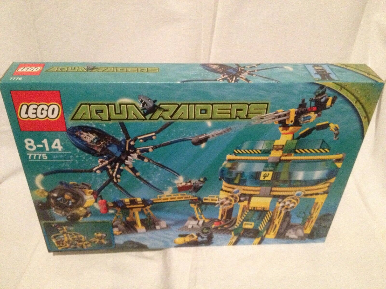 Lego Aqua Raiders 7775 Aquabase Invasion NEUF 1 édition