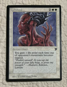 Lifeblood-NM-1994-Legends-Original-Mtg-Magic-the-Gathering