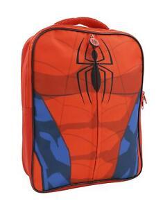 Childrens-Kids-Marvel-Spiderman-School-Zip-Backpack