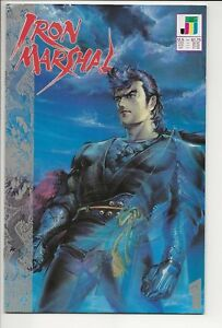 Iron-Marshal-1-VF-NM-9-0-9-2-July-1990-includes-bound-in-poster-Jademan-Comics