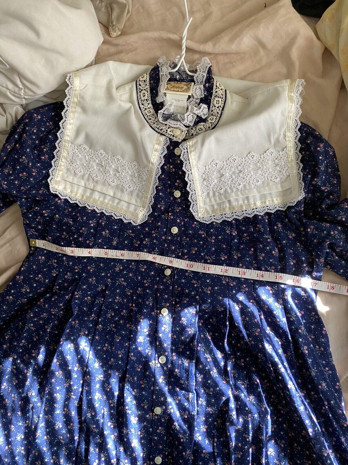 vintage gunne sax prairie dress (size 9) - image 4