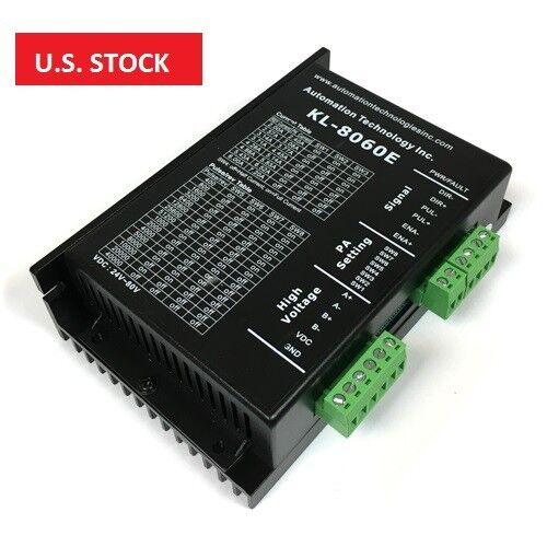 US Ship Digital Stepper Driver 24-80VDC 2.0-6.0A for Nema 17,23 and 34 Motor