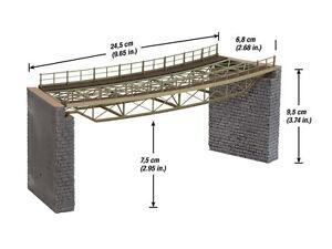 Encore 67026 Piste h0 Rayon #neu dans neuf dans sa boîte # Laser-Cut ponts chaussée plié