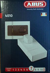 abus 4010 t r zusatzschloss mit au enzylinder schloss neu ovp 4003318081095 ebay. Black Bedroom Furniture Sets. Home Design Ideas