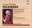 Telemann: Harmonischer Gottes-Dienst, Vol. 1 (CD, Sep-2006, Toccata Classics)