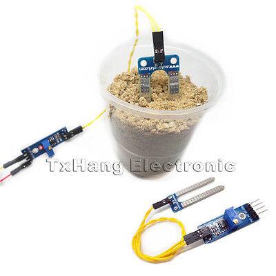 New Soil Hygrometer Detection Module Soil Moisture Sensor For arduino Smart car