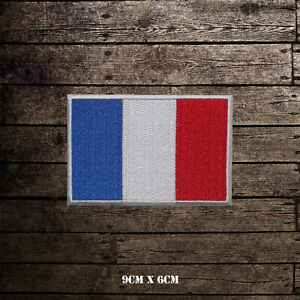 France-National-Flag-Embroidered-Iron-On-Sew-On-Patch-Badge-For-Clothes-etc