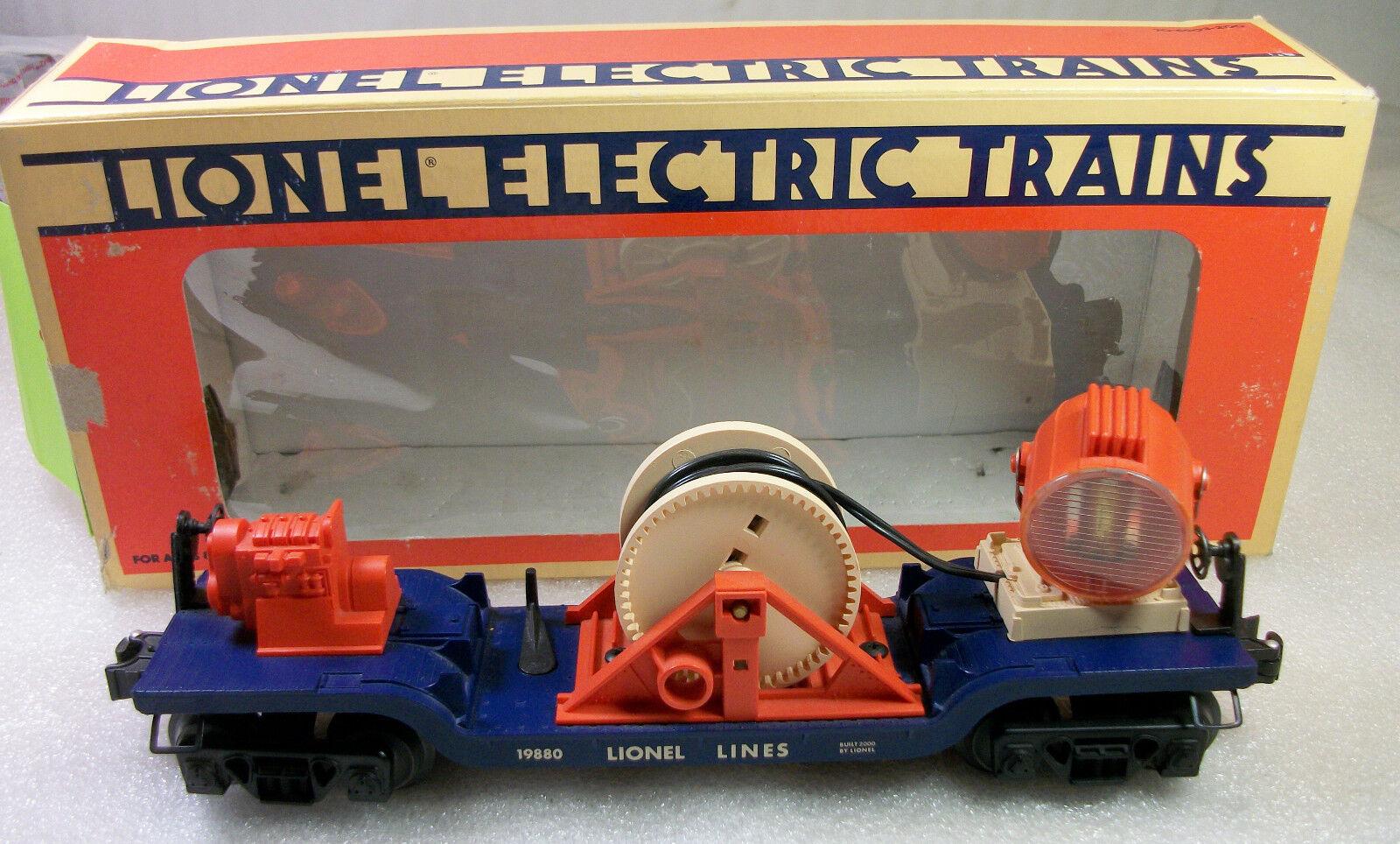 LIONEL 19880 LIONEL LINES SEARCHLIGHT EXTENSION CAR C-8 LN INCORRECT BOX