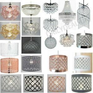 Modern Chandelier Acrylic Crystal Light, Modern Lamp Shades Uk