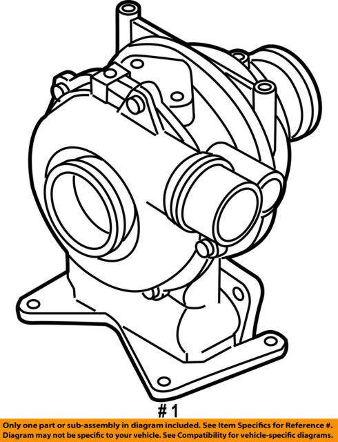 Buy Gm Oem Turbocharger Turbo 12639460 Online