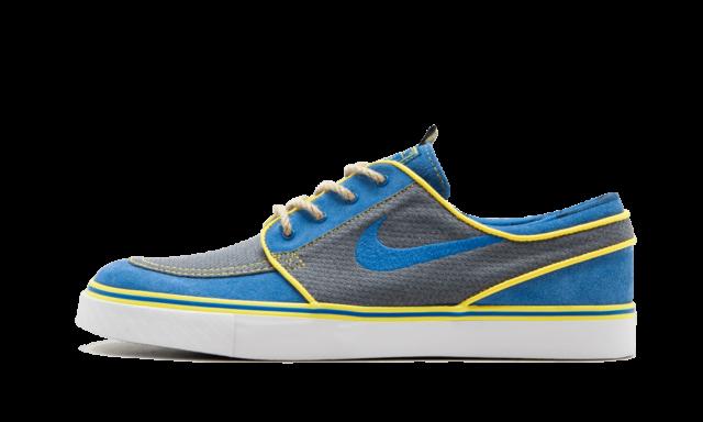 newest b203f eeef7 Nike SB Zoom Janoski DOERNBECHER HOSPITAL CHARITY BLUE GREY AH7188-470 sz  10.5