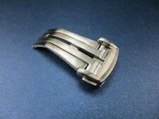 New OMEGA 20mm Swiss Stainless Deployment Buckle Brush Clasp Seamaster 20