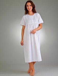 Image is loading Slenderella-Womens-Premium-Quality-100-Cotton-Nightie- Nightdress- c7988b1f4