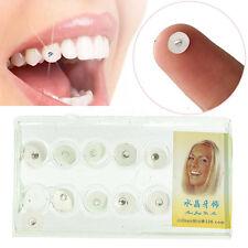 10pcs/Box Dental Gems Imitation Crystal Oral Tooth Ornaments Teeth Jewelry 2.0mm