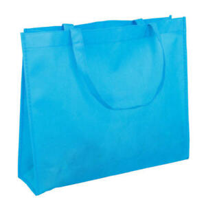 Various Colours NWPP Non Woven Polypropylene Bags Two handles 350mm ... 02862c6a0