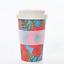 Eco Chic Biodegradable Reusable Bamboo Travel Coffee Mug Poppies Cup
