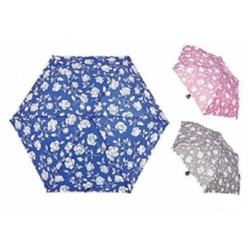 Ladies drizzles Rose  design umbrella in a choice of  3  colours