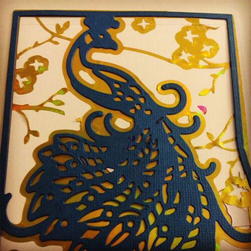 4pcs//set Layered Flowers Animal Frame Metal Cutting Dies Stencils DIY Scrapbooki