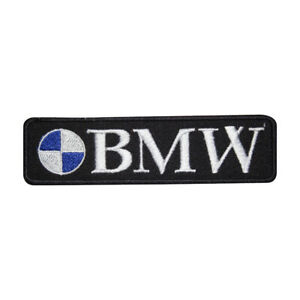 Bmw Motor Car Brand Logo Patch Iron On Patch Sew On Embroidered Patch