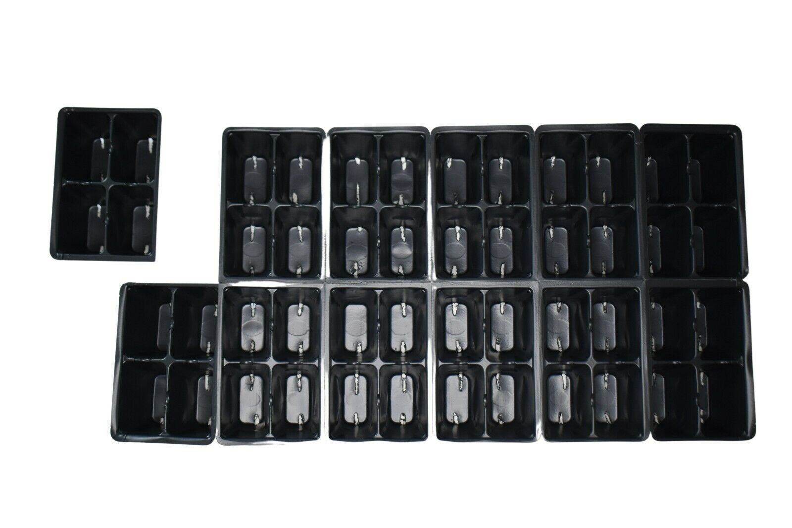 10 SHEETS Seed Starter Trays Inserts Packs - 1204 style - 480 cells 48/tray