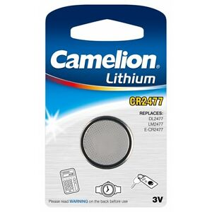 1-Blister-of-1-Button-Battery-CR2477-3V-Lithium-Camelion