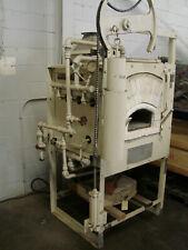Agf 59 Muffle Type Box Heat Treating Furnace Gas Fired 1850f Heating Forging