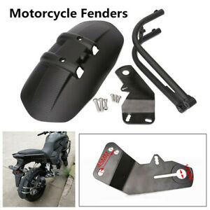 For-Honda-NC750X-NC750-CB1300-CB400-Rear-Fender-ABS-Carbon-Steel-Matte-Black-NEW