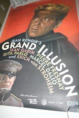 Le testament du Dr Cordelier Jean Renoir movie poster print