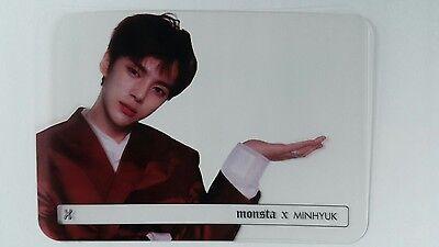 MONSTA X SHOWNU Official Transparent Photocard BESIDE #1 1st BEAUTIFUL Album 셔누