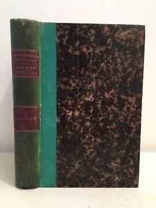Dizionario Enciclopedico Delle Sciences Vista Volume Terza 1879