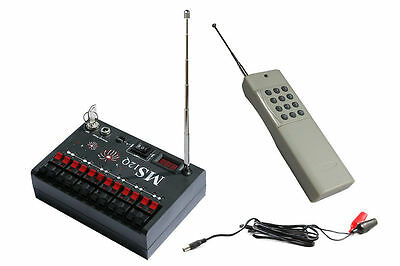 Holiday & Seasonal Other Stage Lighting & Effects 2000m 12 Cue Fireworks Wireless Firing System Ms12ql-looking For Agents To Make One Feel At Ease And Energetic