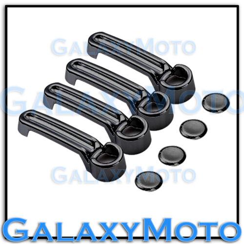 07-12 DODGE NITRO Triple Black Chrome plated ABS 4 Door Handle Cover 2012