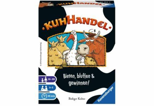Ravensburger 207534 Kuhhandel Kinderspiel Familienspiel Gesellschaftsspiel Spiel